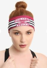 Harry Potter Hogwarts Alumni Active Stretchy Headband New With Tags!