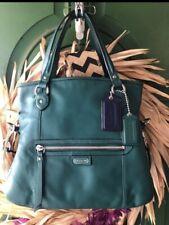 Coach leather Daisy Mia Jade teal purse. Crossbody Handbag