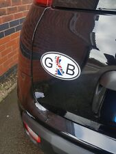GB Vinyl Car Van Truck Lorry Decal Sticker Red White and Blue