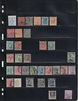 ITALY 2 STOCK PAGES COLLECTION LOT VALUES UP TO $40 EACH 68 STAMPS FIRST ISSUES
