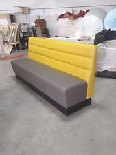 Commercial furniture booth bench sofa for restaurant bar pub cafe