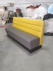 Commercial furniture booth bench sofa for restaurant bar pub.Comes in any colour