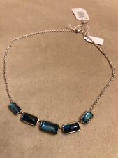 NWT $595 Ippolita Wonderland 5-Stone Green Quartz Necklace