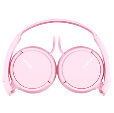 Sony Over-Head Extra Bass Portable Stereo Over Ear Headphones Pink