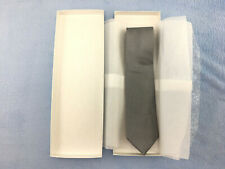 Michael Kors Designer Men's, Regular Silver Tie, One Size