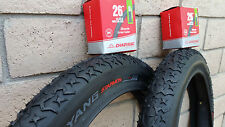 "Pair of 26""x4.0 FAT Bicycle Tires & Tubes Beach Cruiser Bikes Mountain 26x4"""
