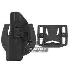 CQC Serpa Concealment Left Hand Waist Holster for Glock 17 19 22 23 31 32