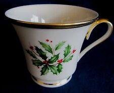 Lenox Holiday Coffee Cup