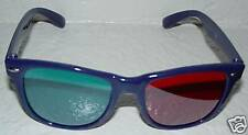 2 PREMIUM Anaglyph 3D Glasses Red Cyan Blue for DVD 1