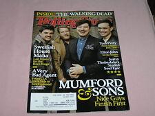 Rolling Stone Magazine March 28 2013 Swedish House Mafia The Walking Dead
