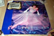 """1983 Original Album Promo Linda Ronstadt Poster 24X24"""" New!Cond!"""