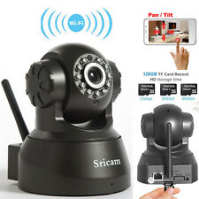 Sricam 720P HD Wireless IR Day Night Network IP Camera P2P Wifi Android iOS View