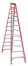 INDALEX Pro Series Fibreglass Double Sided Step Ladder 12ft 3.7m