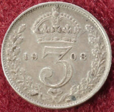 GB Threepence 1908 (C2210)