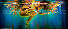 """Art Print from Original Painting """" Aquarian Rebirth """" by Robyn Chance"""