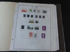 Norway 1973-1986 Stamp Collection on Album Pages