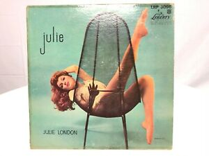 Julie London Vinyl Record LP - Big Band Jazz Music - VG - Liberty Records PROMO