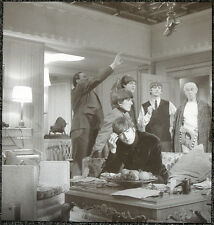 THE BEATLES POSTER PAGE .1964 JOHN LENNON FILMING A HARD DAYS NIGHT . J26
