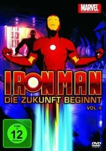 Iron Man: Die Zukunft beginnt - Vol. 4 (Marvel Animation) DVD / NEU