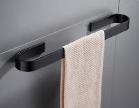 Bathroom Towel Bar Rail Holder Wall Mount Space aluminum Moden design 21.6'' NEW