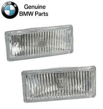 For BMW E30 M3 1988-1991 Pair Set of Front Left & Right Fog Lights Lens Genuine