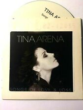 TINA ARENA VERY RARE Australian PROMO ONLY Songs of Love & Loss CD
