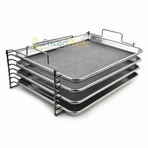 New Bull Rack Grill Tray System Br4 Grilling More Space Jerky Fish Pizza More
