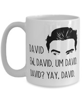 Schitts Creek Funny Mug David Rose Valentine's Day  Gift Birthday For Him or Her