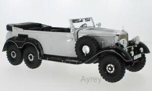 MCG 18208 or 18209 MERCEDES G4 W31 6-Wheel model road cars 1938 1:18th Hitler