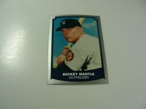 Mickey Mantle 1988 Pacific Legends card #7