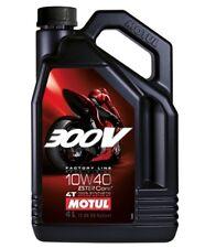 Motul 300V 4T Factory Line Road Racing 10W40 4L Motoröl Motorrad Motocross Quad