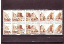 a109 - SG185-188 MNH 1989 BIRD CLIFFS OF SUDURCY - BLOCKS OF 4 - CV £29.00