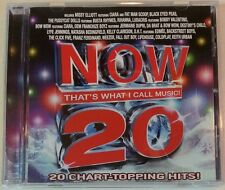 NOW THAT'S WHAT I CALL MUSIC! 20 by Various Artists (CD, Nov-2005-Universal) VGC
