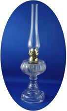 Antique CABLE W/ FISHSCALE PATTER Miniature Stem Oil Lamp, S2-170