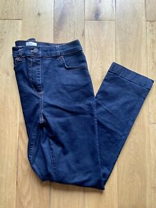 Womens French Connection Size 12 Dark Blue Wash Bootcut Jeans Designer