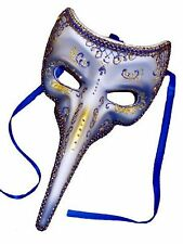 Long Nosed Glitter Masquerade Ball Bird Mask, Venetian Fancy Dress Unisex Mask
