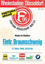 II. BL 88/89 Fortuna Düsseldorf - Eintracht Braunschweig, 11.03.1989
