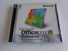 100% Genuine: Microsoft Office 2000 Professional Full Version