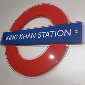 UNDERGROUND OR OVERGROUND ACRYLIC WALL SIGNS ALL STATIONS AVAILABLE, TUBE SIGNS