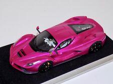 1/43 Looksmart Ferrari LaFerrai Coupe in Flash Pink Aluminum base LS421SC