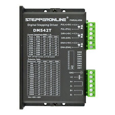 DE Ship Digital Stepper Driver 1.0-4.2A 20-50VDC For Nema 17, 23, 24 Stepper