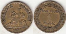 Monnaie Française 1 franc Chambre de commerce 1920