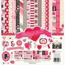 Valentine Kiss Collection Kit 12X12 Scrapbooking Kit Echo Park BKS98016 New