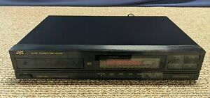 JVC XL-V111 Compact Disc CD Player Vintage Single Digital Working Editing System