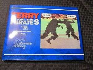 1993 TERRY And The PIRATES Color Sundays v.11 HC/DJ NM/VF- Milton Caniff 112pgs