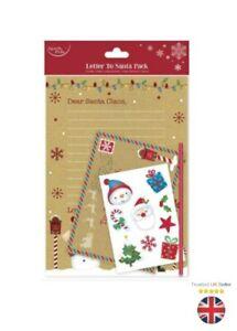 Kids Christmas List - Letter to Santa Kit Pencils Xmas Eve Kids - Style 3