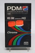 PDM Videocasette VCC-360 Standart HG Chrome Video 2000