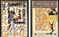 Carl Pickens Signed 1997 Collector's Choice #50 Card Cincinnati Bengals Auto