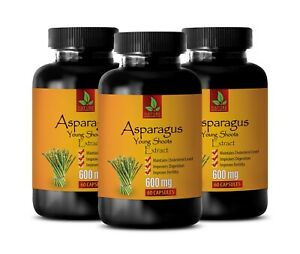 health heart and digestion - ASPARAGUS YOUNG SHOOTS - bone health tablets 3 BOTT