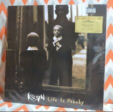 KORN - Life Is Peachy Limited Import 180 Gram CLEAR VINYL Numbered NEW!!